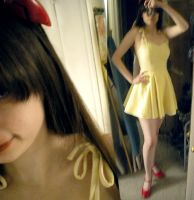 asuka sundress progress by daydreamernessa