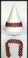 Lattice red by Cayca