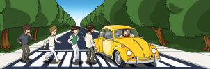 (not) Abbey Road these days by rounindx