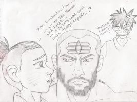 Sokka x Combustion Man by violet-plude