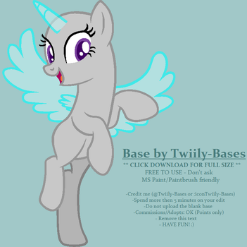 MLP Base 169 - About to Soar by ShiiBases