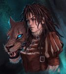 Jules and Nimue by cyberaeon
