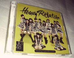 CD Heavy rotation by SaintOfArt