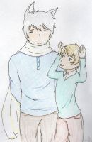 APH-wolf and latvia by TayaNoa