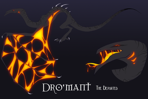 Dro'Mant the Departed by SpookyBjorn