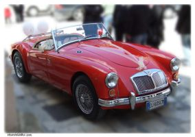 Red Car by IdeandoGrafica