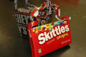 Hershey's and Skittle Purse by Lovely-LaceyAnn-Art