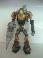 Bionicle MOC: Subject Delta(Bioshock 2) by TheAxelandx1