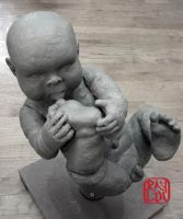 Life Size Baby Boy WIP 2 by artanis-one