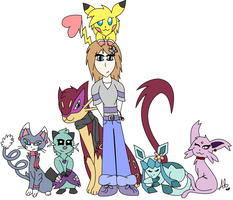 My Pokemon Team~^^ by AlyssaThePikachu