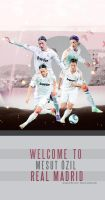Welcome Design Mesut Ozil - Real Madrid by shad-designs