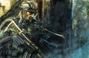 Old Snake by Gold-copper