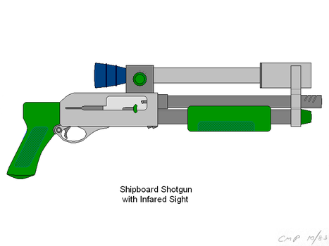 Firearm from Outland by scifibug