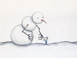 The Abominable Snowman by Kongzilla2010