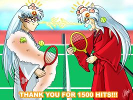 1500 Kiriban - Tennis Youkais by lilfuzz6