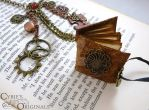 Close up of steam punk book by cybelemoon