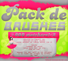 1: PACK DE BRUSHES | +600 WATCHERS by turnlastsong