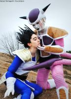 Dragon Ball Z: Frieza, Vegeta by Sisters-Tamagochi