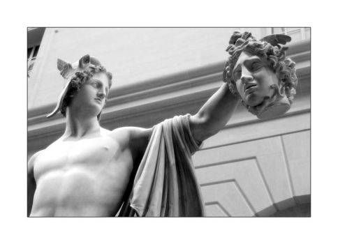 Victory of Perseus by chinesestunna