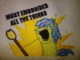 Must Embroider all the Things by EthePony