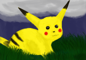 this pikachu is lame by Squirrelflighty