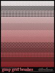 grid brushes by istarlome