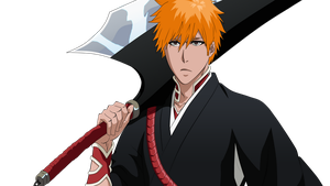 Ichigo New Shikai Vector by Zanpakuto-Leader