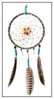 Beadwoven Dreamcatcher 3 by Linhorra