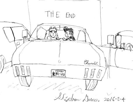 I and K at the drive-in 2.0 by stephdumas