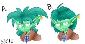 Conflicting Hailstyles by Mew-tew