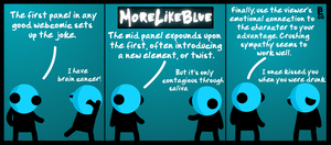 MoreLikeBlue: Webcomic by MrGobi