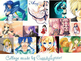 Vocaloid Collage by CassidyLynne1