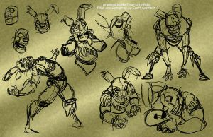 Springtrap concepts 02 - 3-23-15 by Mattartist25