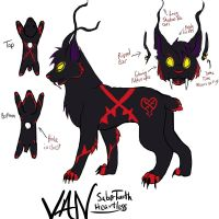 Van Saber Tooth Heartless by TheTater