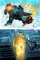 HAWKEN: Melee #5 by SpicerColor