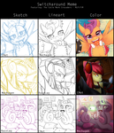 Switch-Around Meme - CMC Teen Selfies by CNat