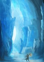 Ice Cave by HetNoodlot