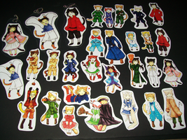 Axis Powers Hetalia-Catalia Stickers FOR SALE by Lambentworld