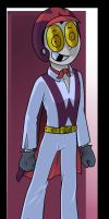 Superjail!: Warden`s Racing outfit. by 5catsonebowl