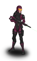 PurpleVixen- Recon Trooper by VeXeDZERO