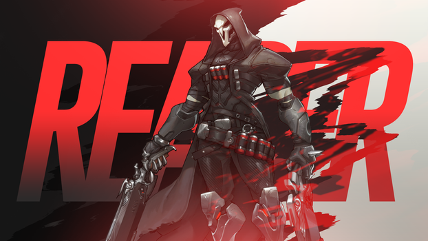 Reaper Overwatch Wallpaper by codyrhodes20012001