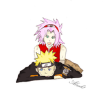NaruSaku 2 by Alzak