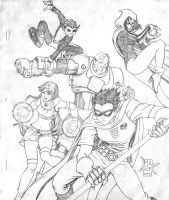 Teen Titans by jurak