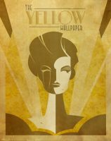 PosterVine The Yellow Wallpaper Poster by PosterVine