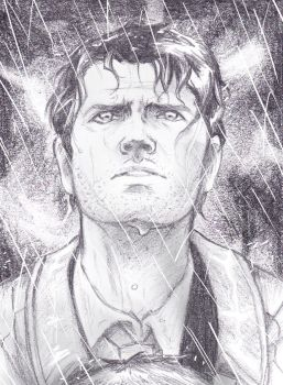 Castiel In The Storm by Seraph5