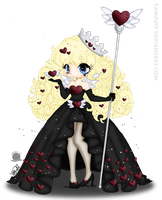 Queen Of Hearts by blackmoonrose13