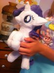 Holdable filly Rarity by LordBoop