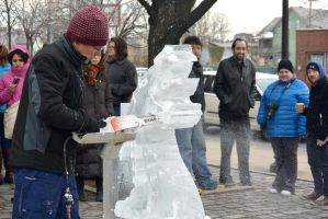 Fire and Ice Festival, the Sculpting 3 by Miss-Tbones