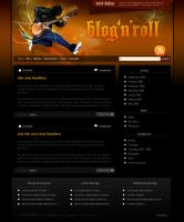 Blog_N_Roll PSD Template by templay-team