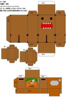Domo Paper Craft by Princess-of-Leafs